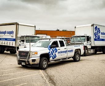 McKeough Delivery fleet